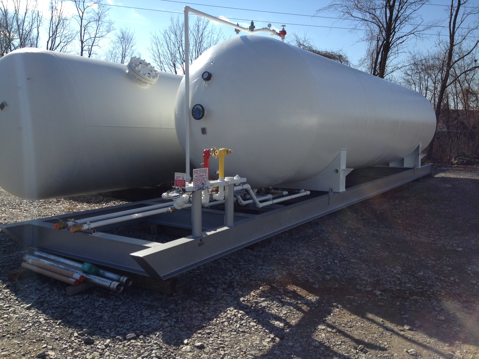 6000 To 30000 Gallon Skid Tanks In Inventory Hiltz